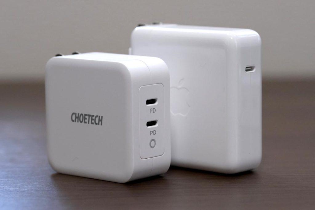 CHOETECH PD6008と96W USB-C電源アダプタ