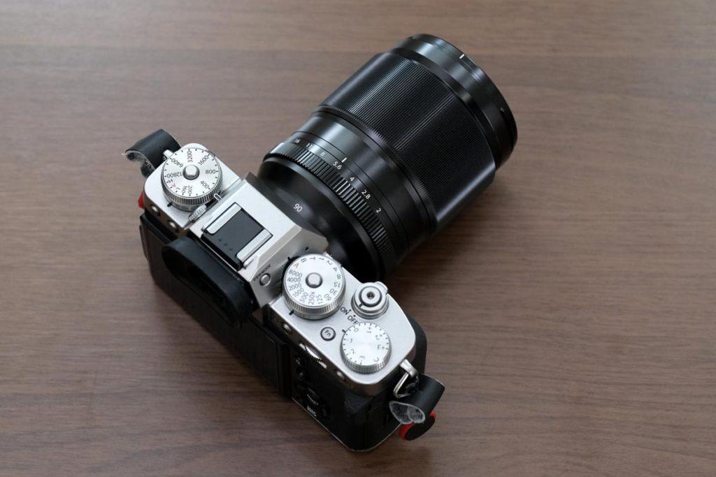 XF90mmF2 R LM WRのデザイン