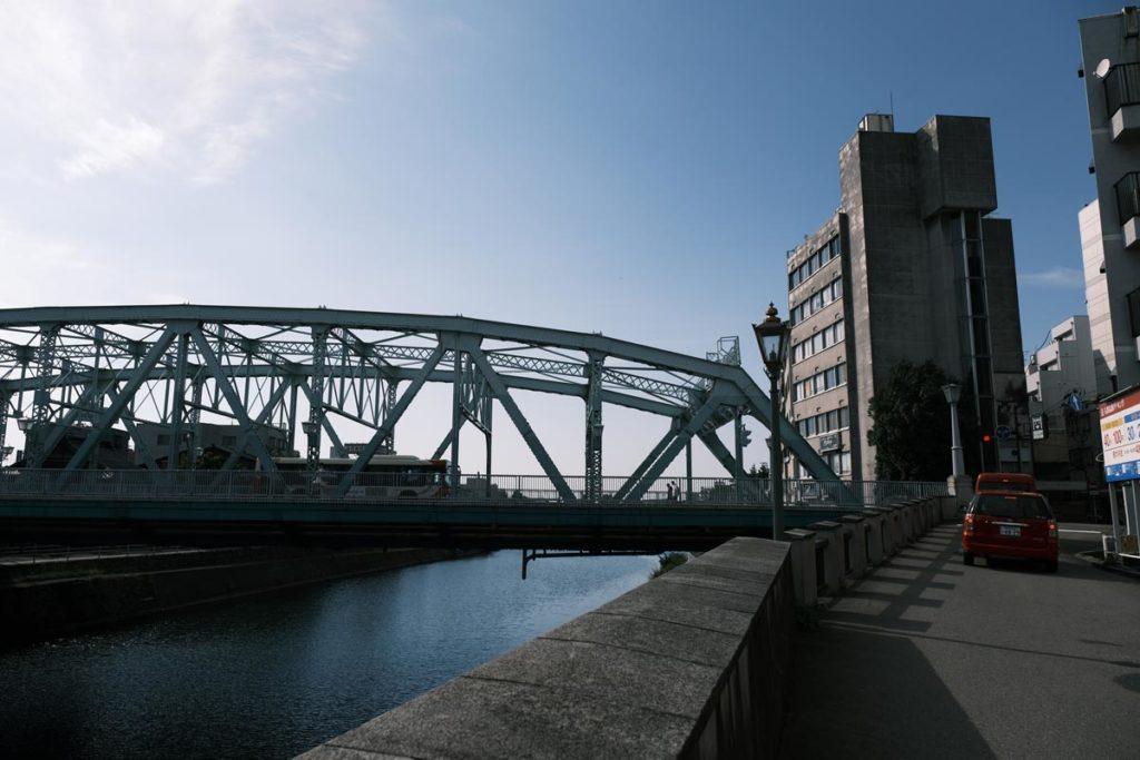 X-T4で犀川大橋を撮影