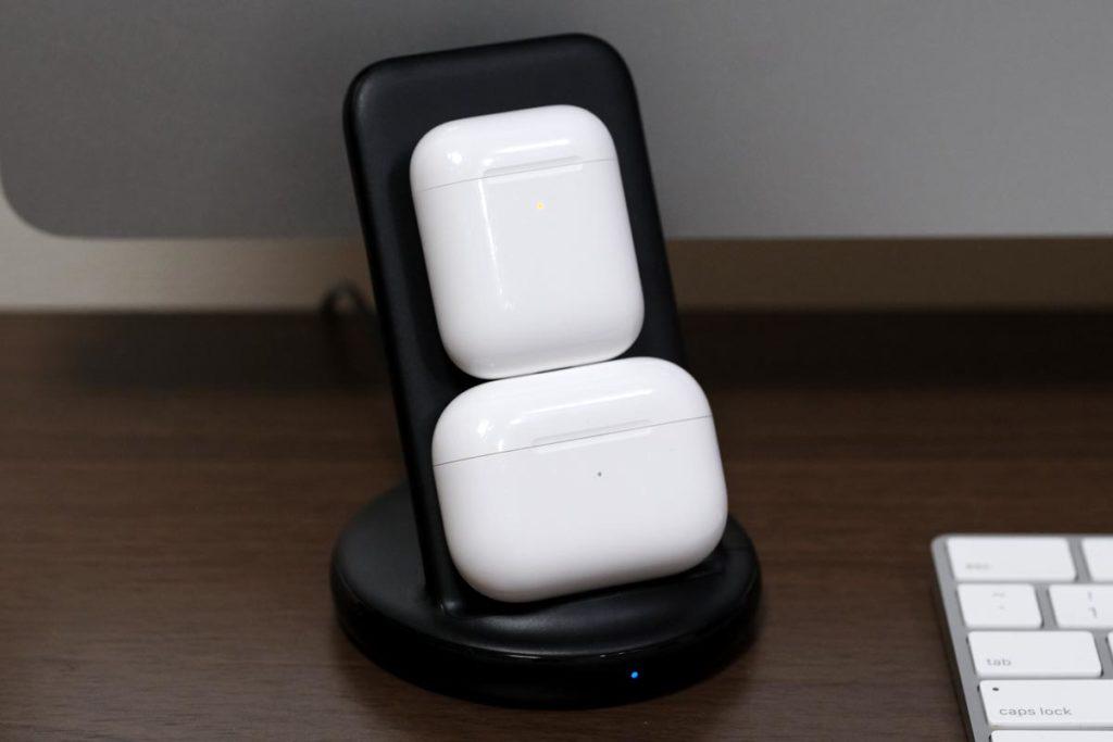 AirPodsは2台持ってるなら充電できる
