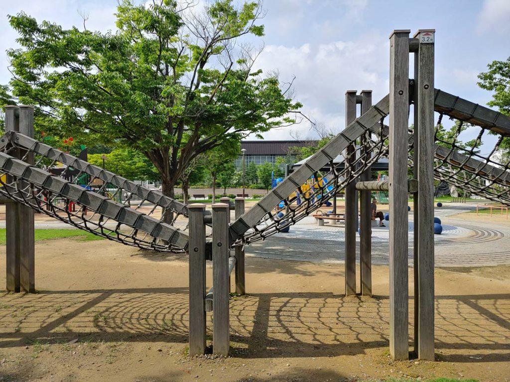 LG Style3の標準カメラで公園を撮影