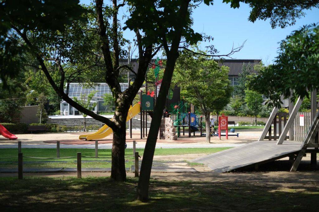 X-T4 + XF35mmF1.4Rで公園を撮影