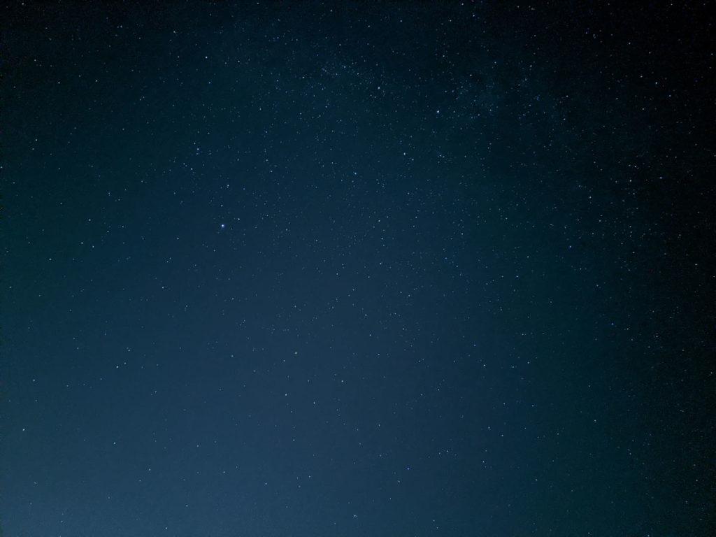 Pixel 4で星空を撮影