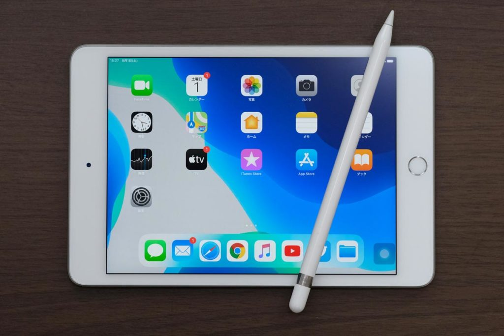 iPad mini 5とApple Pencil