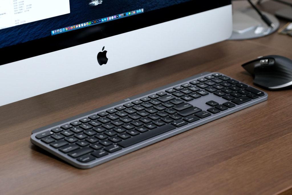 MX KEYS for Macの本体デザイン