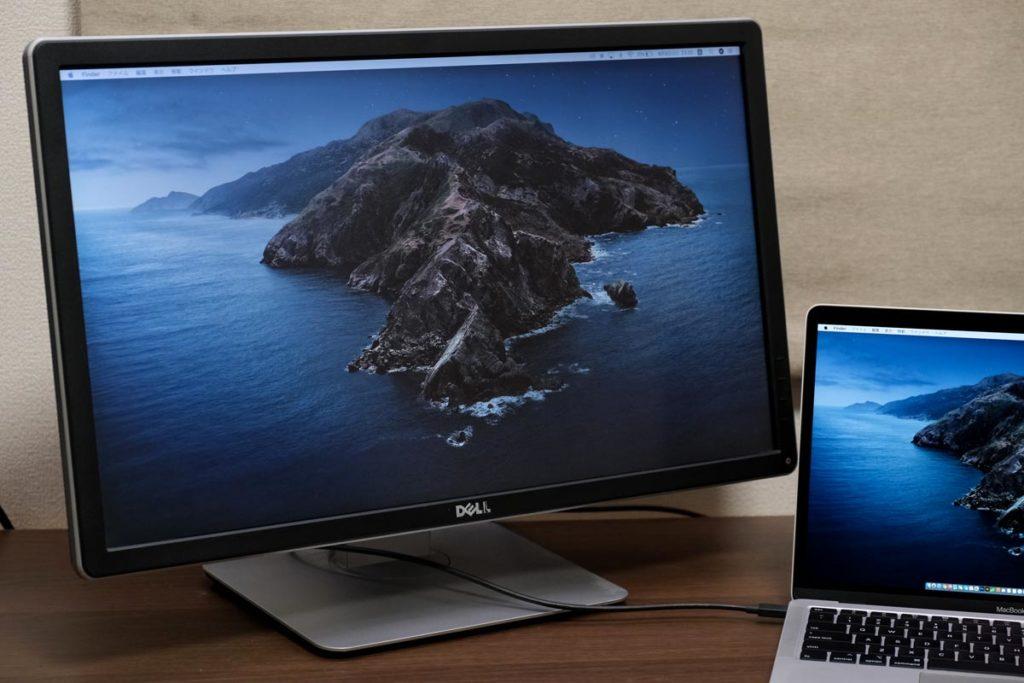 MacBook Airから画面出力する