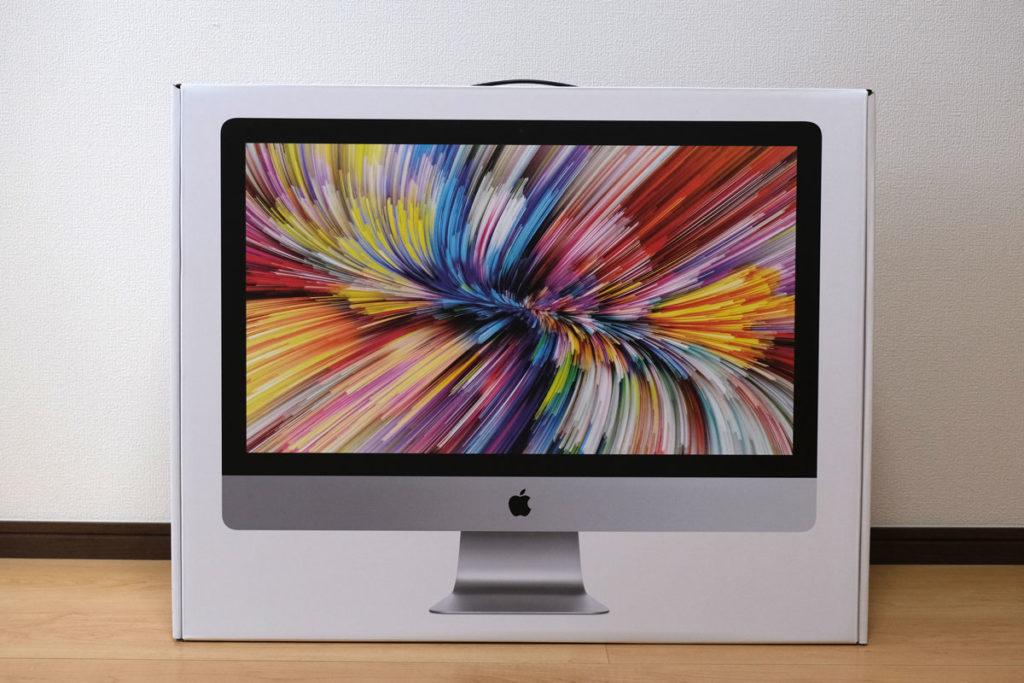 iMac 27インチ(2020)パッケージデザイン