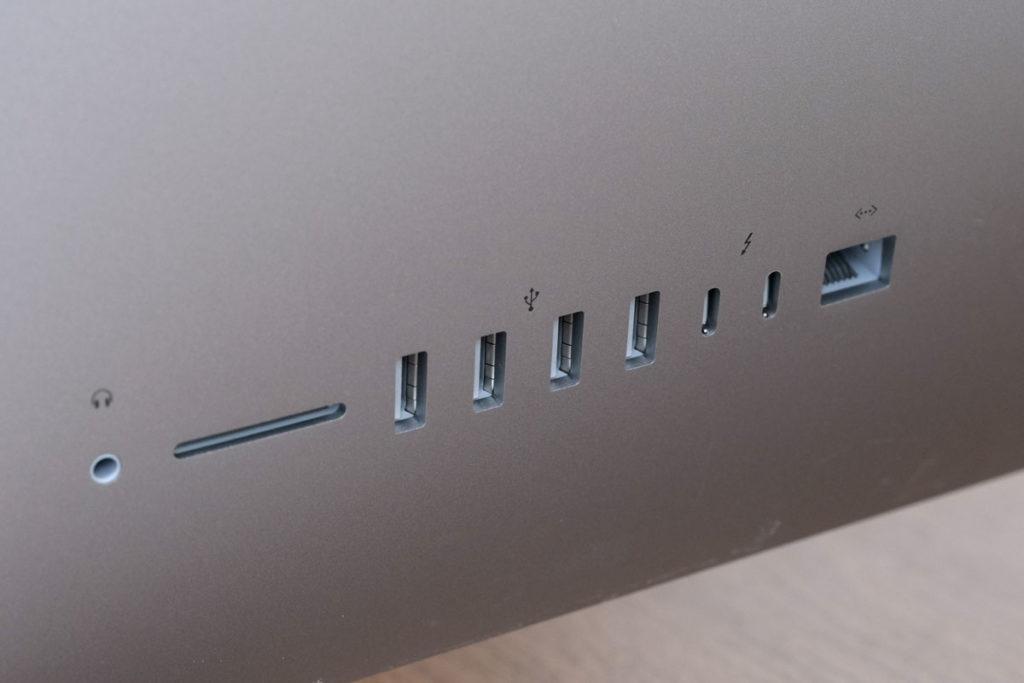 iMac 27インチの外部ポート