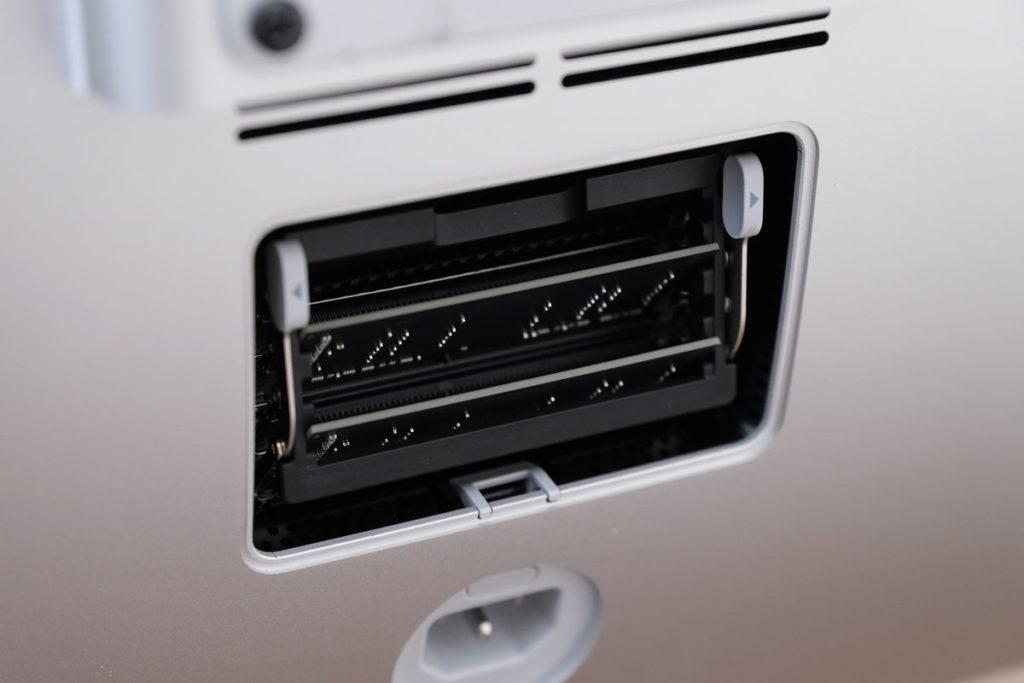iMac 27インチのメインメモリスロット