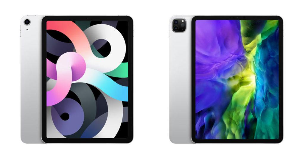iPad Air 4とiPad Pro 11インチ
