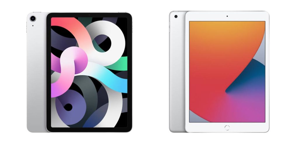 iPad Air 4とiPad(第8世代)