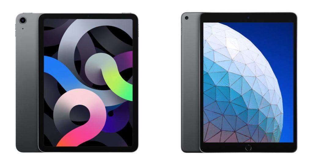 iPad Air 4とiPad Air 3