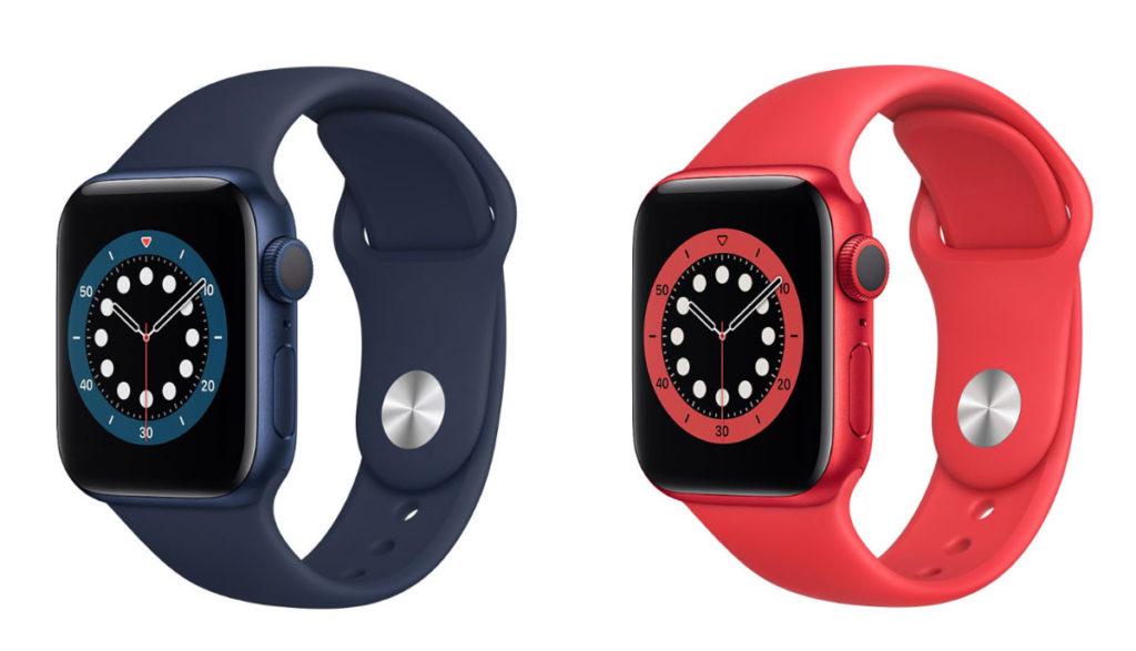 Apple Watch 6 新色のブルーとProduct RED