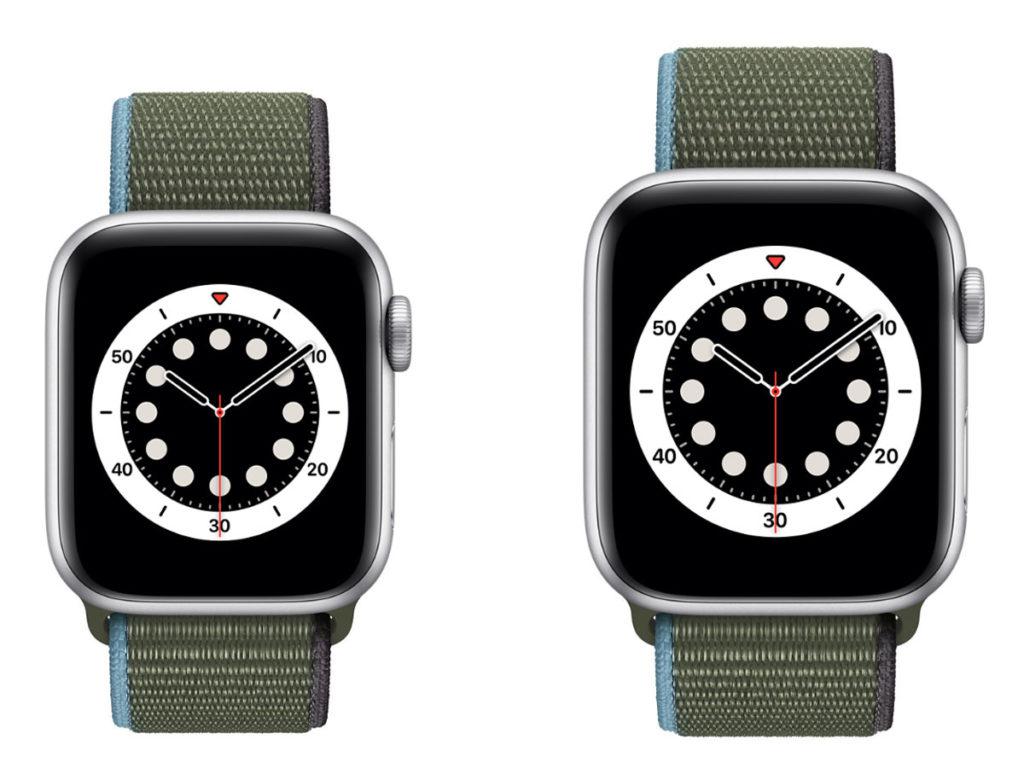 Apple Watch 6 画面サイズ