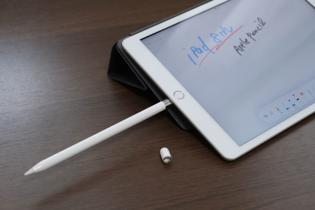 iPad(第8世代)とApple Pencil