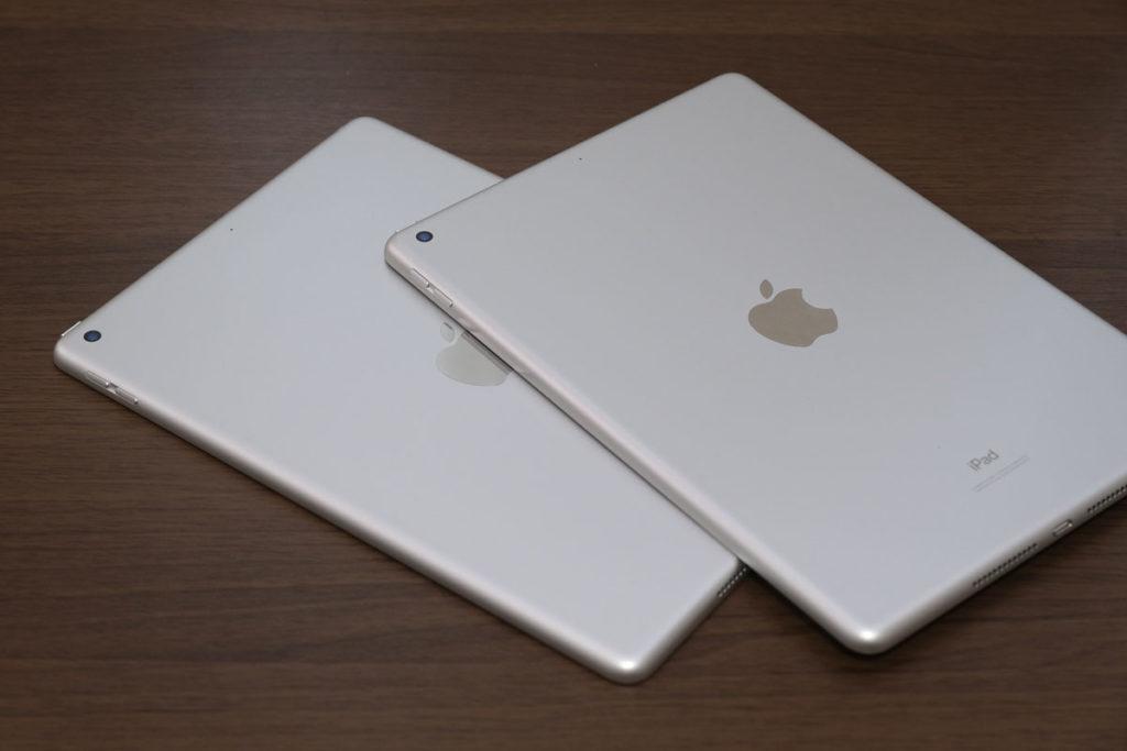 iPad(第8世代)とiPad(第7世代)