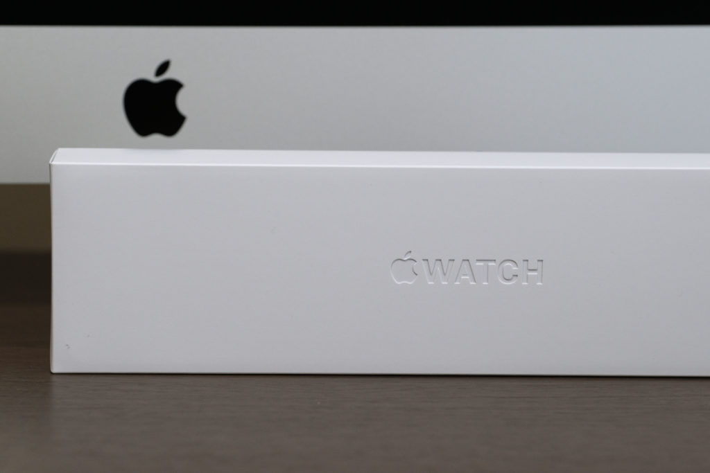Apple Watch 6のパッケージ