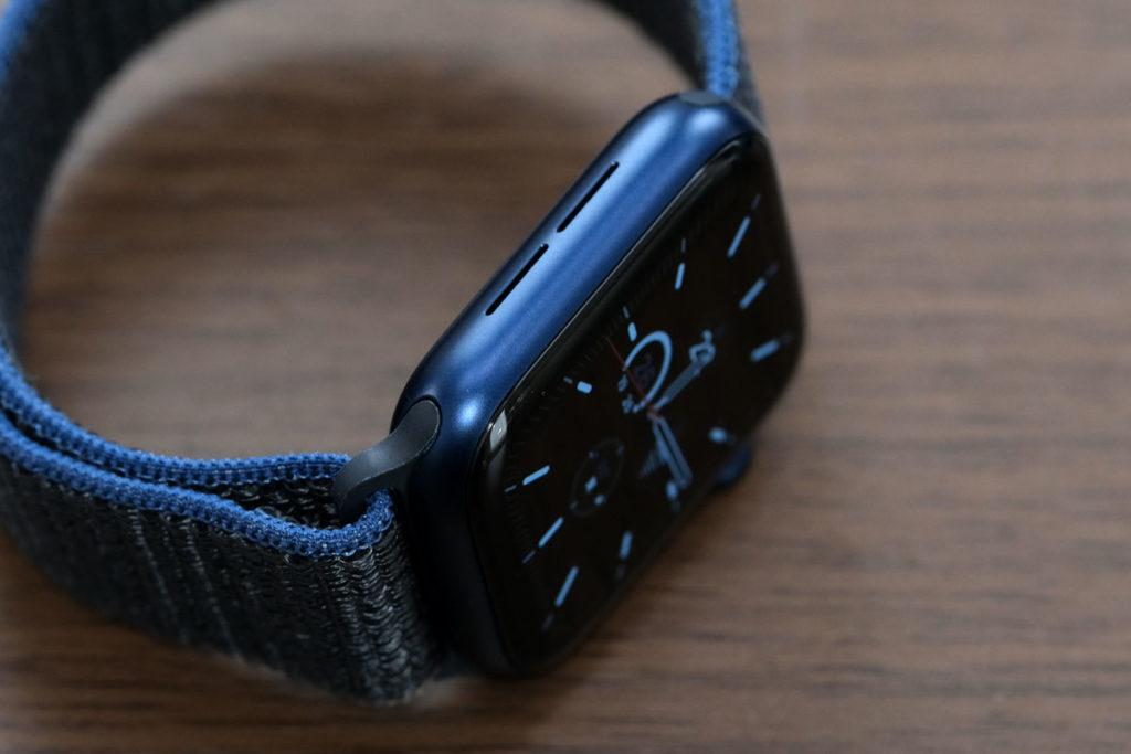 Apple Watch 6のサイドスピーカー
