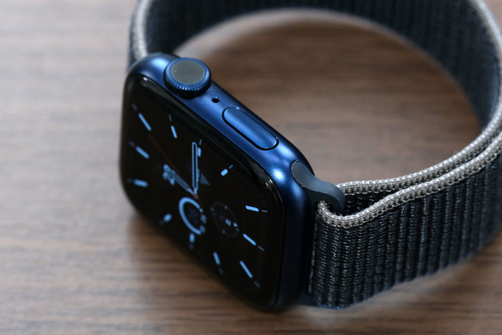 Apple Watch 6の操作ボタン