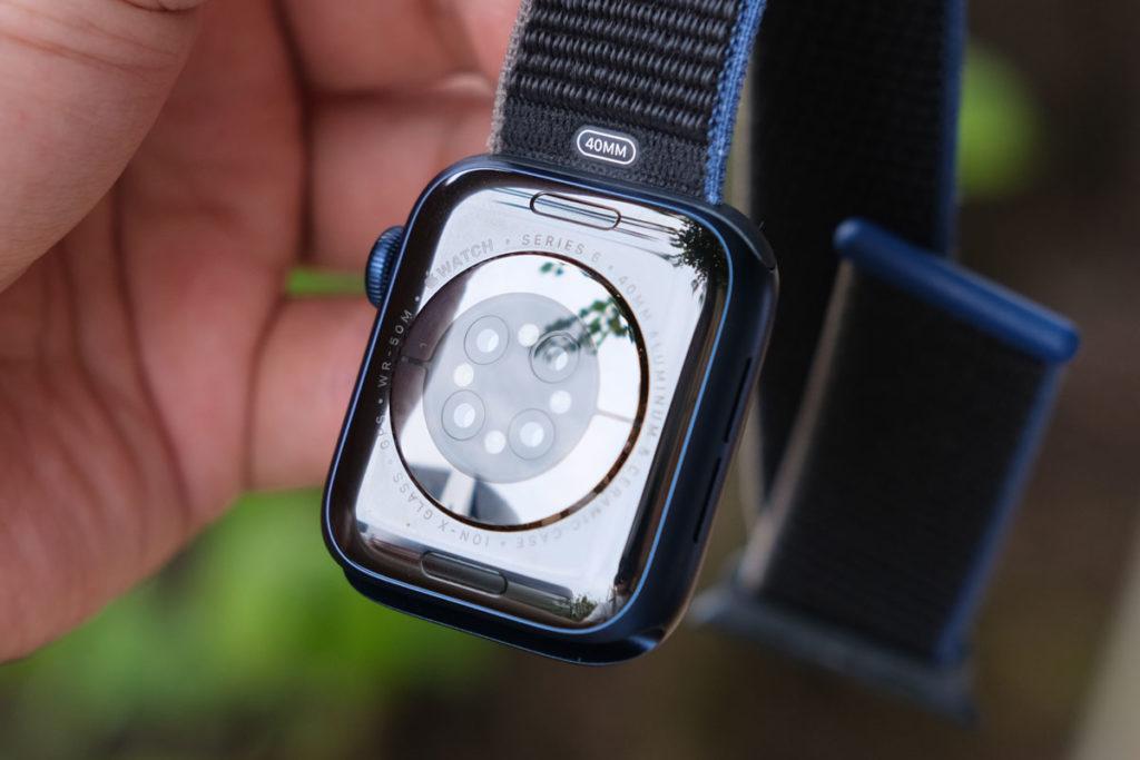 Apple Watch 6のセンサー