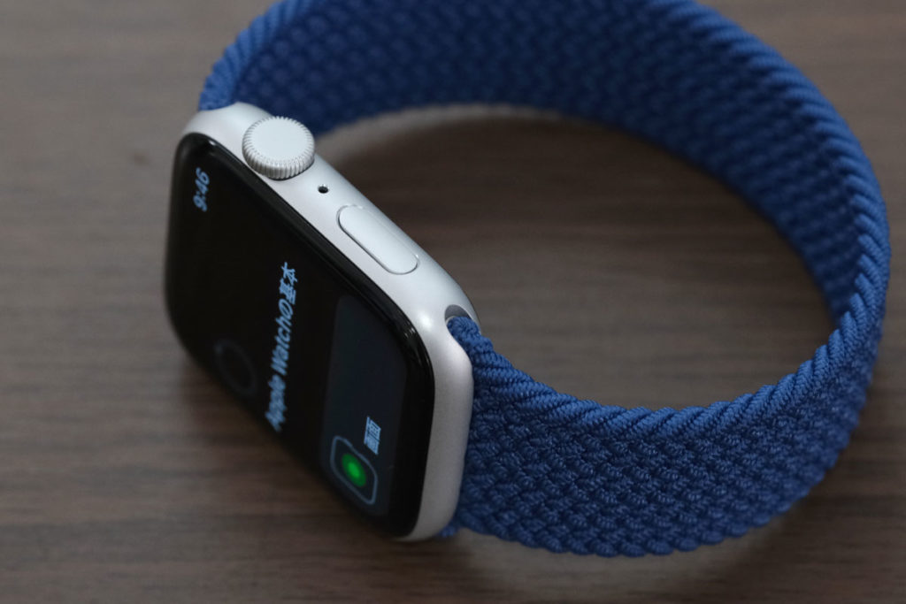 Apple Watch SEの操作ボタン