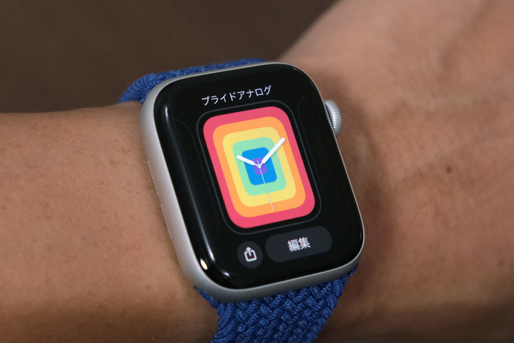 Apple Watch SEの文字盤の設定