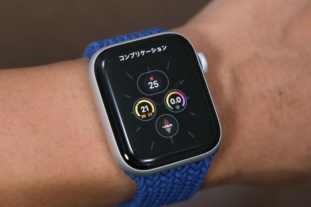 Apple Watch SEのコンプリケーションアプリ