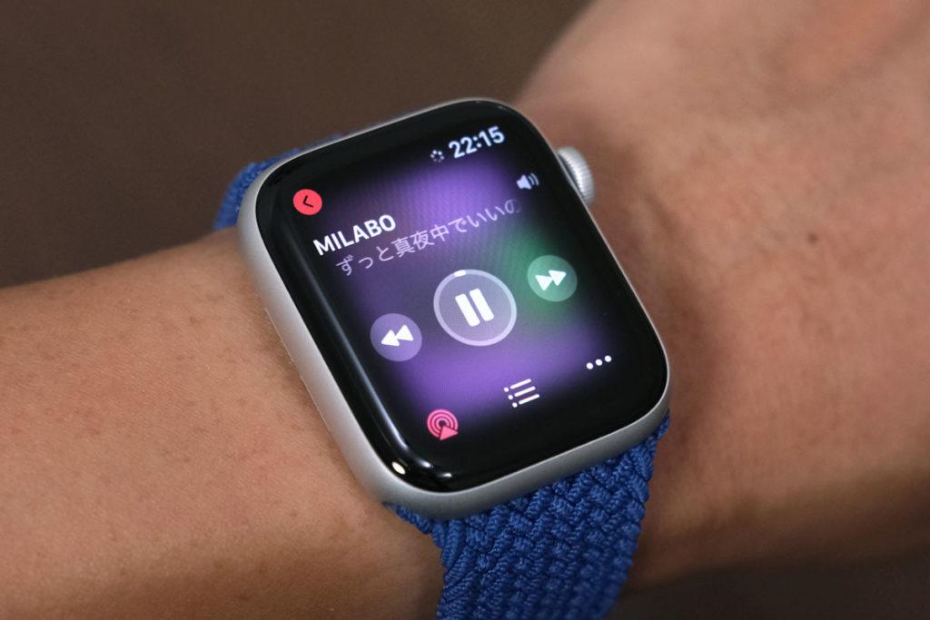 Apple Watch SEで音楽操作