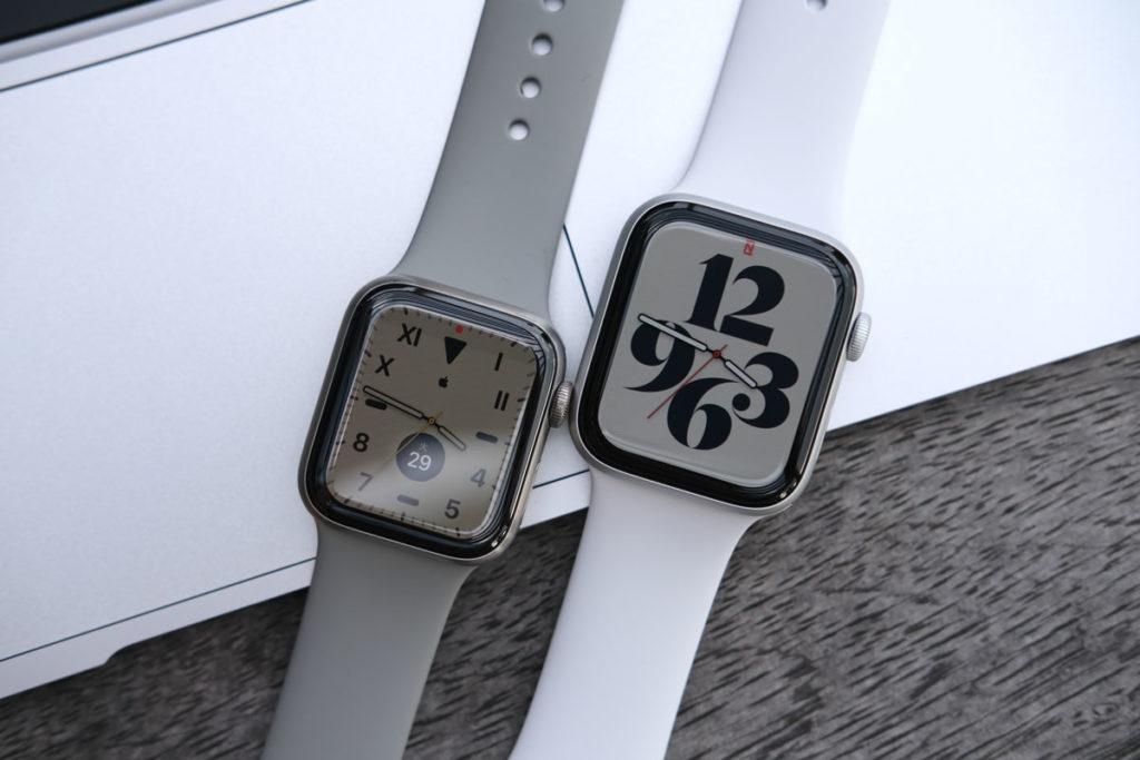 Apple Watch 40mmと44mm