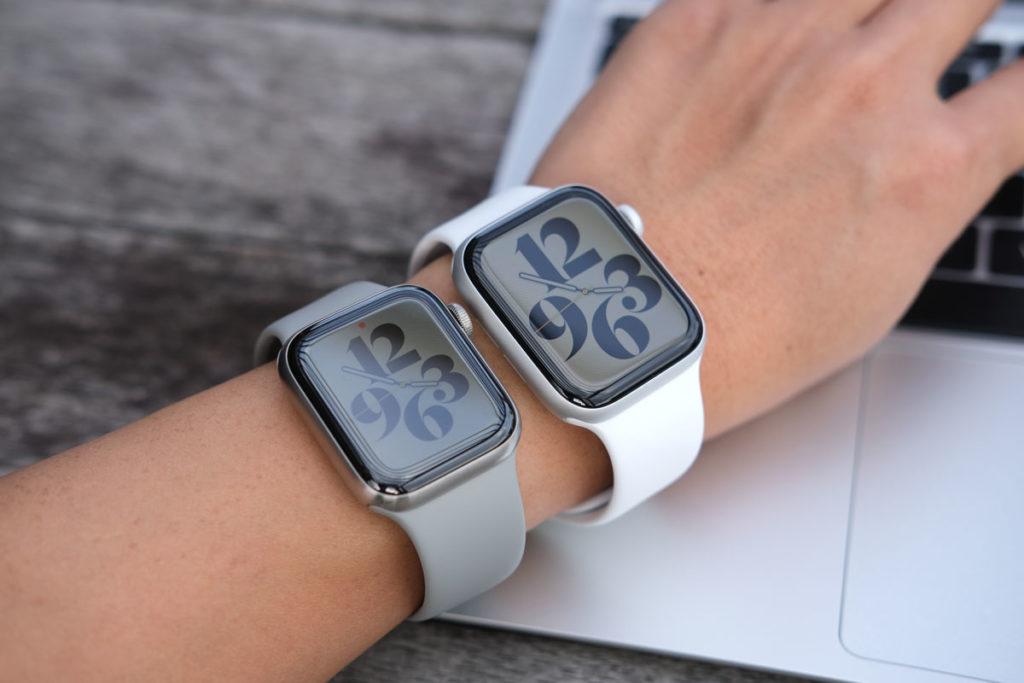 Apple Watchは画面サイズが大きい方が使いやす