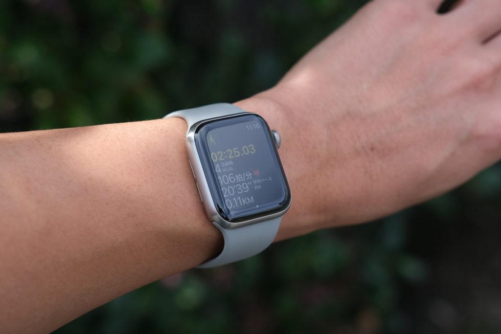 Apple Watchでワークアウト機能