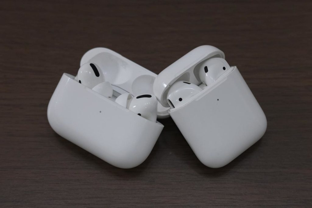AirPods ProとAirPods