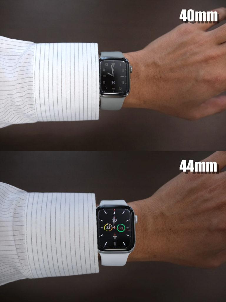 Apple Watchとワイシャツの組み合わせ