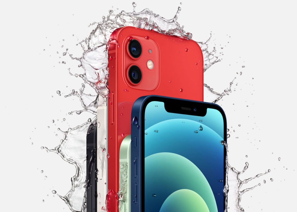 iPhone 12の耐水性