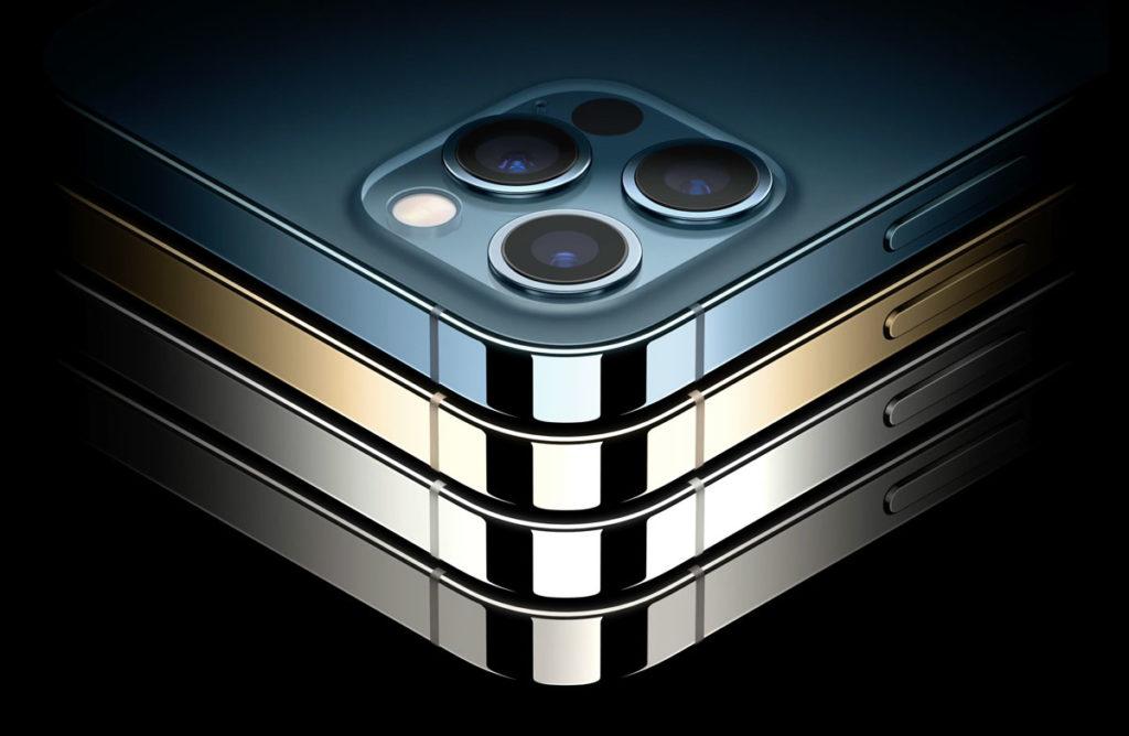 iPhone 12 Proのカラーラインナップ
