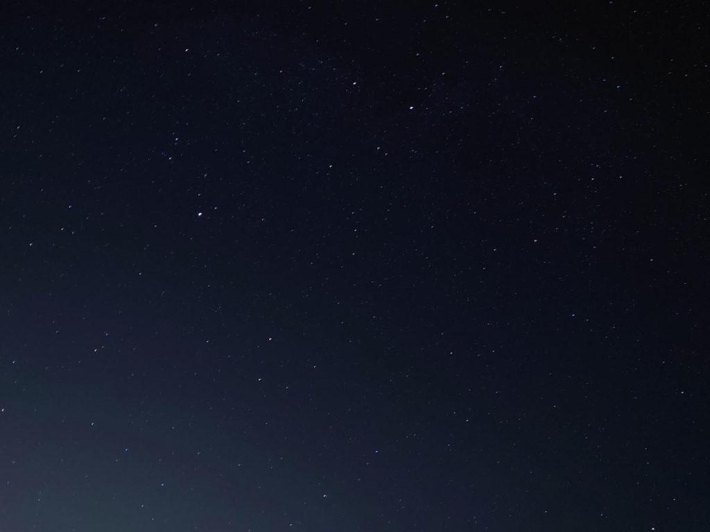 Xperia 5で星空を撮影する