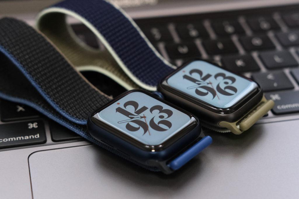 Apple Watch 6・5のデザインは同じ