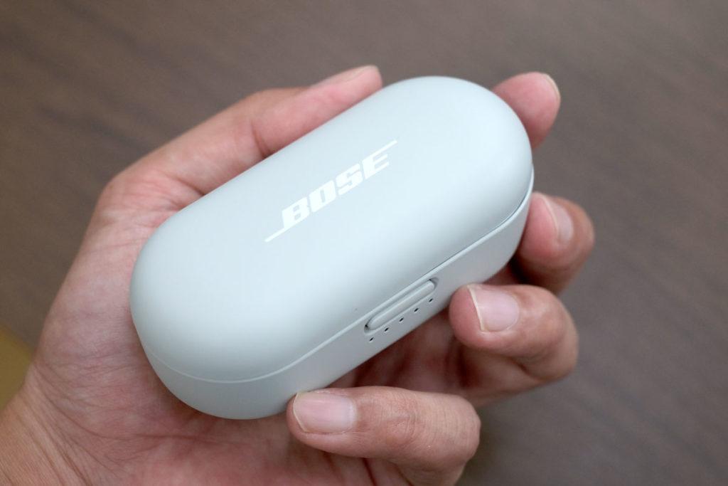 BOSE Sport Earbuds 充電ケースのサイズ感