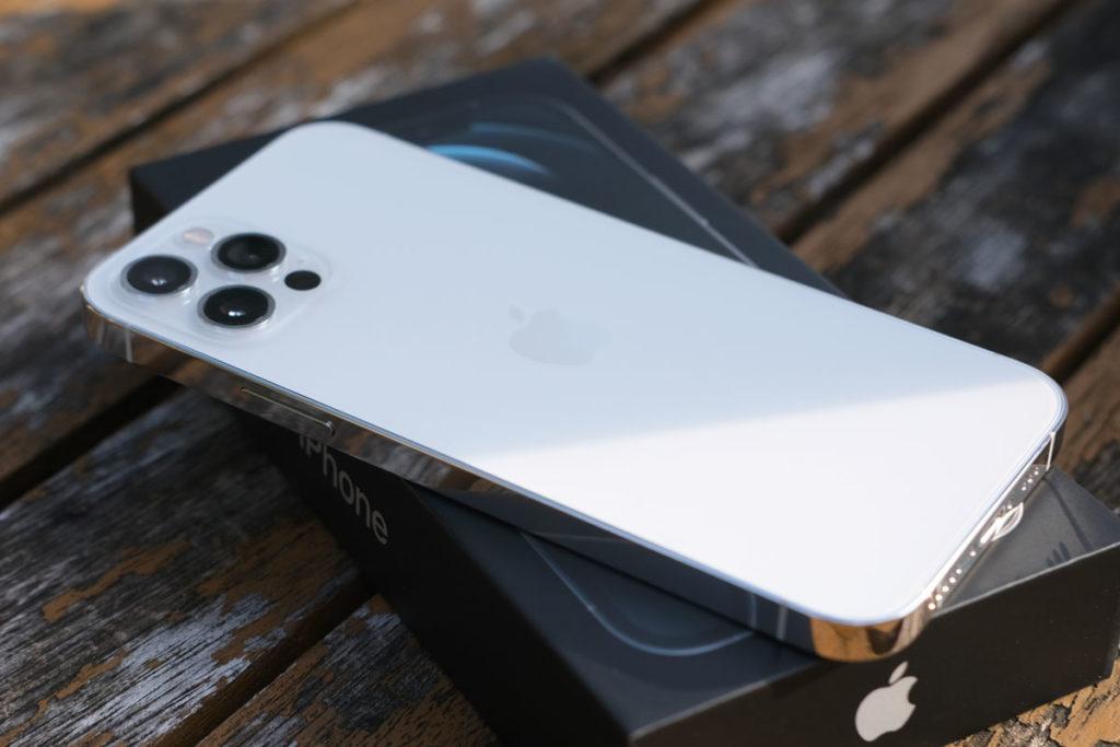 iPhone 12 Proのテクスチャードマットガラス