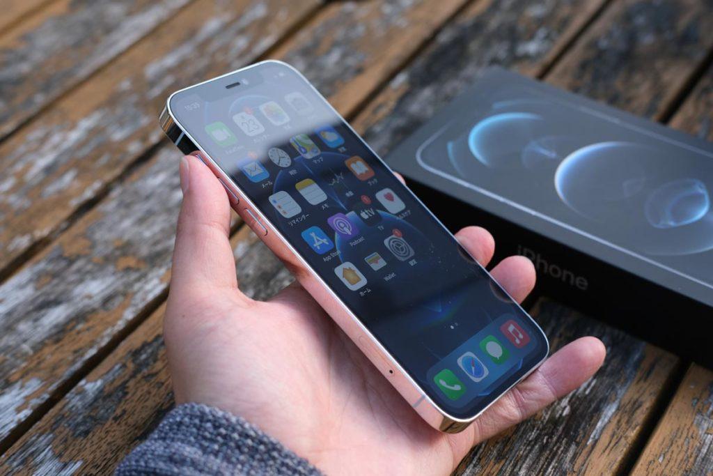 iPhone 12 Proのエッジスタイル
