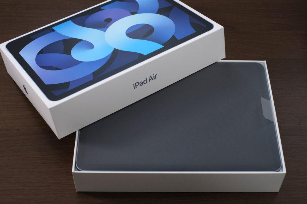 iPad Air4のパッケージデザイン