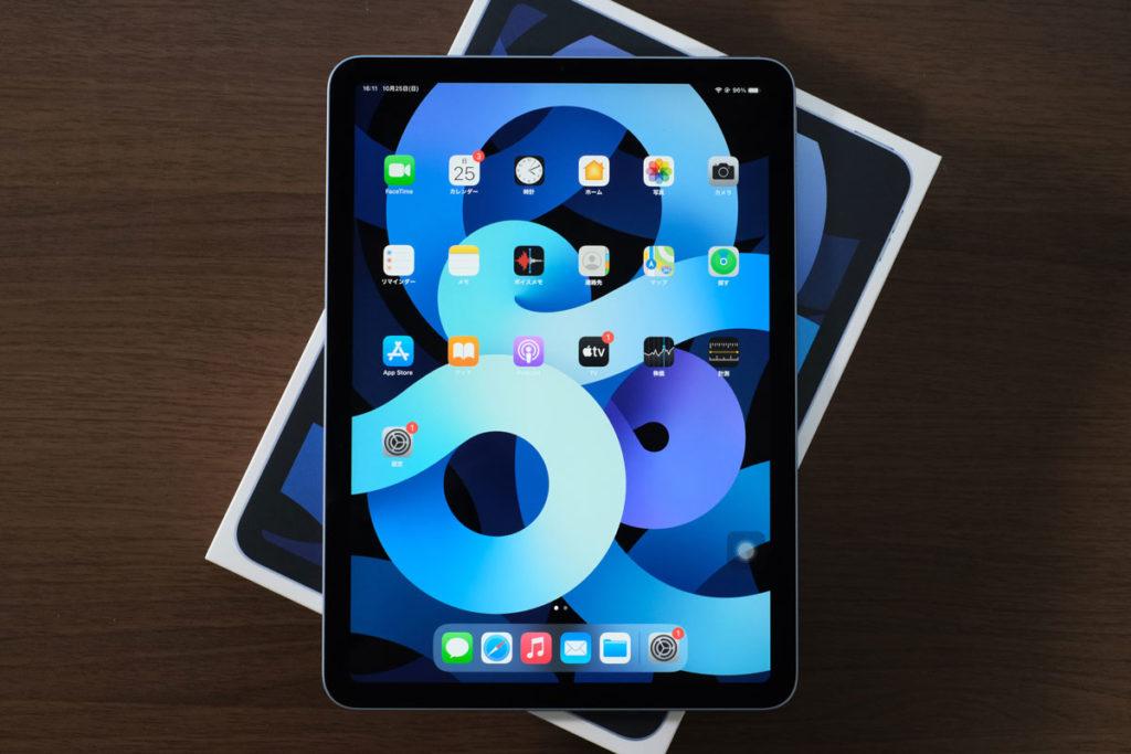 iPad Air(第4世代)のディスプレイ