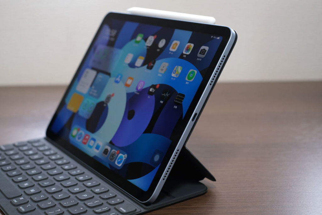 iPad Air 4とSmart Keyboard Folio