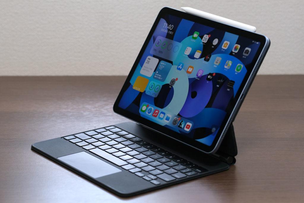 iPad Air 4とMagicKeyboard