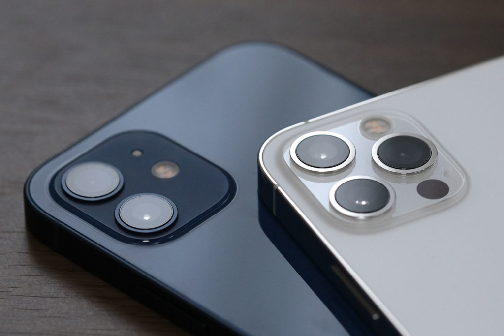 iPhone 12・12 Proのリアカメラ