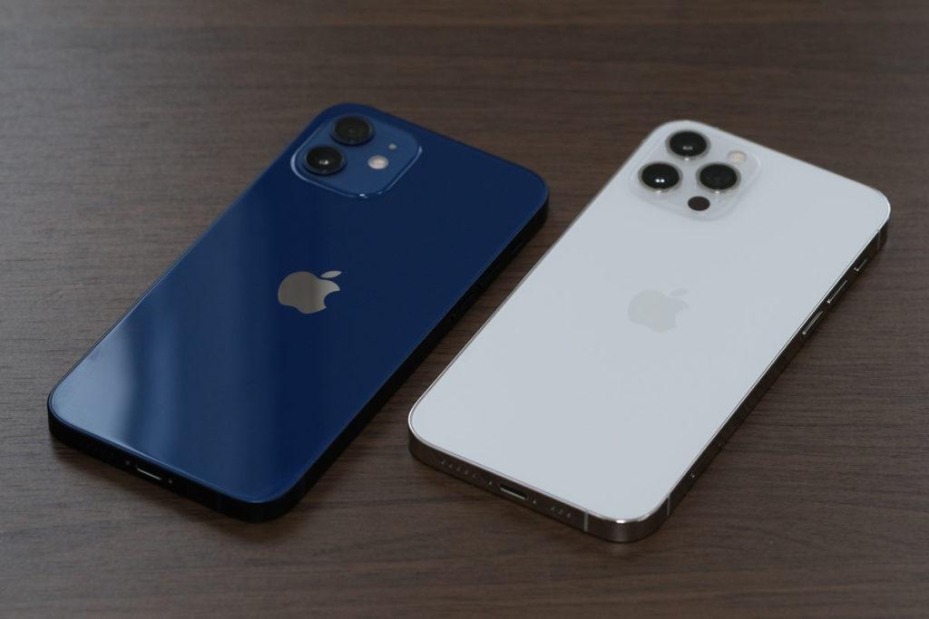 iPhone 12 と iPhone 12 Pro