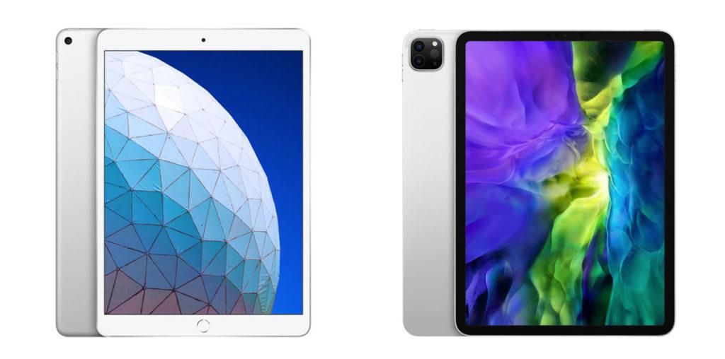 iPad Air 3とiPad Pro 11インチ