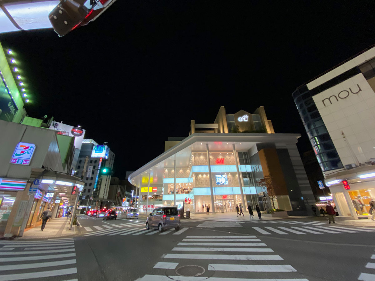 iPhone 12の超広角カメラで撮影