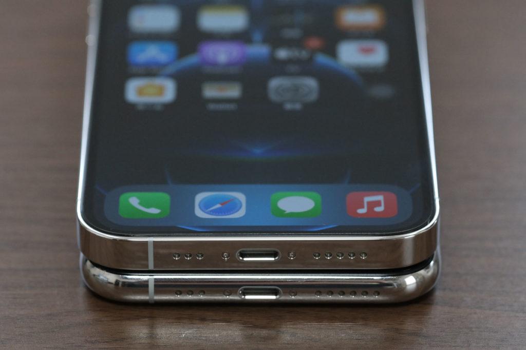 iPhone 12 Pro・11 Proの本体の横幅