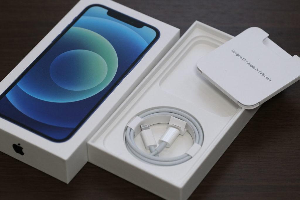 iPhone 12の同梱品